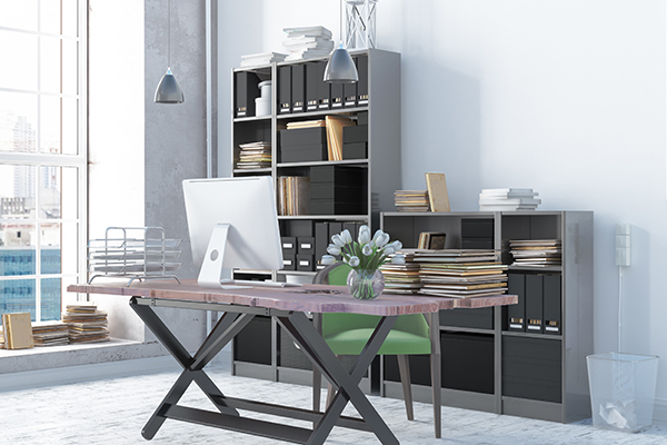Stylish Office Storage