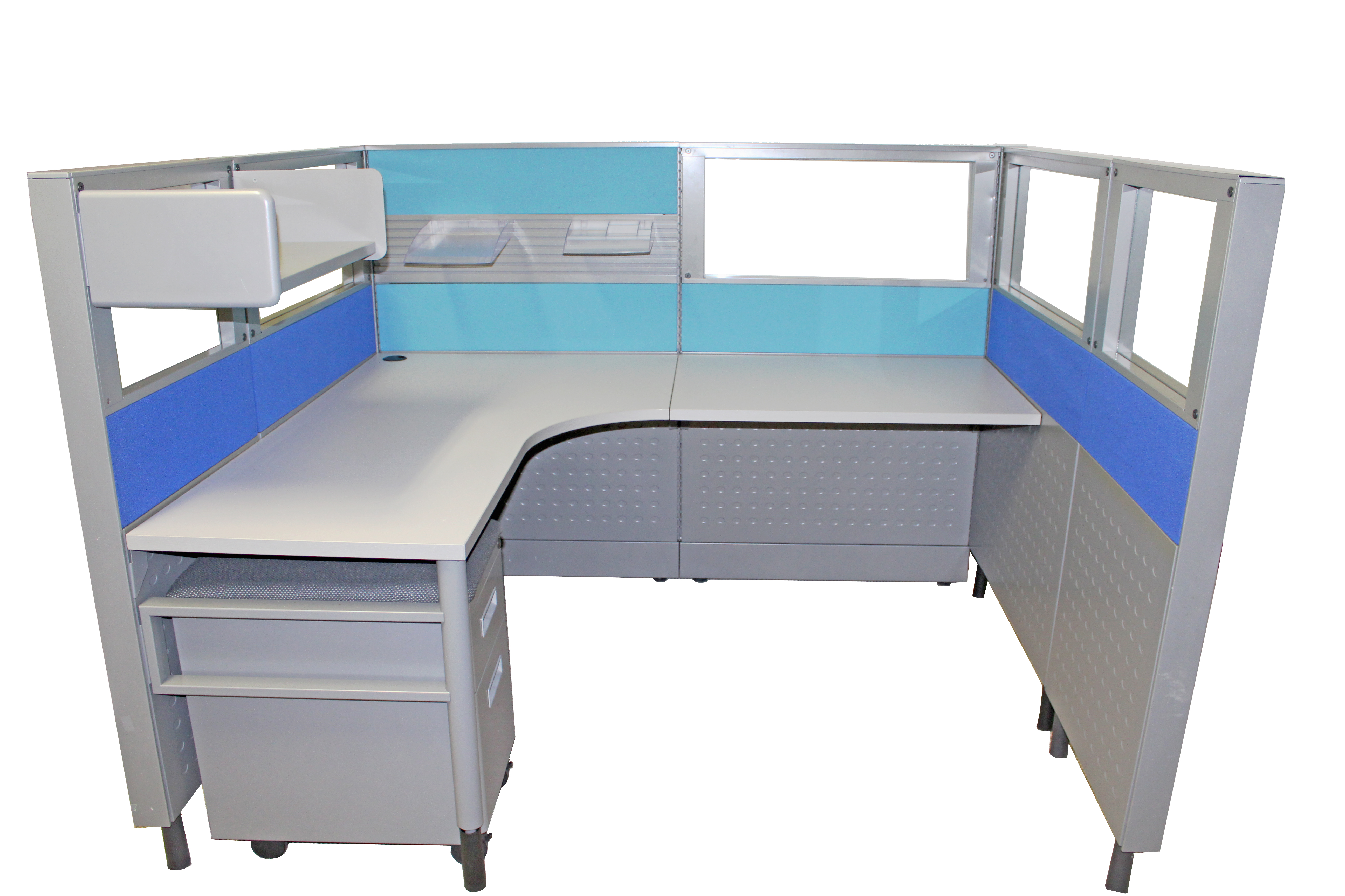 used tx commercial high modern contemporary bowfrontglobal savvi gray quality affordable and office houston furniture desk in showitemslist