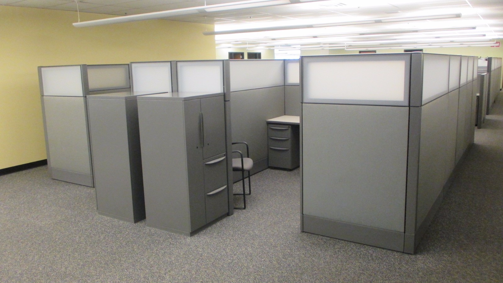 Used office furniture 6x8 48 haworth premise enhanced for Cubicle design tool