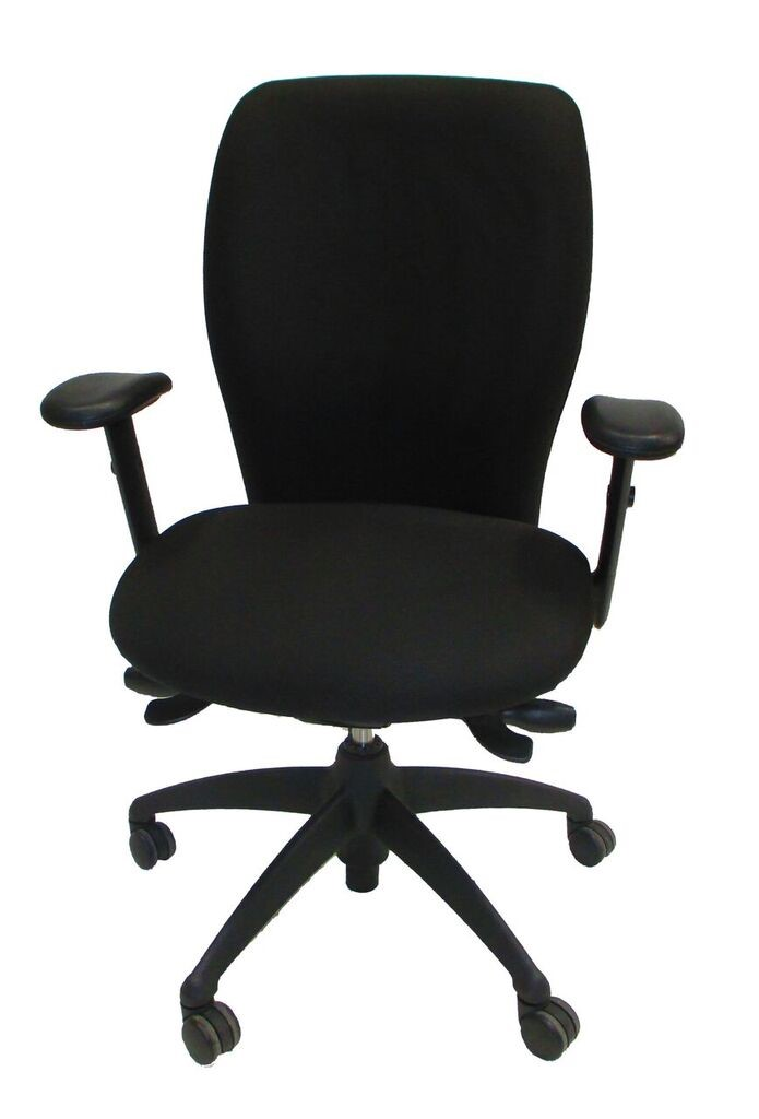National Office Furniture Mix-it Task Chair Black Fabric