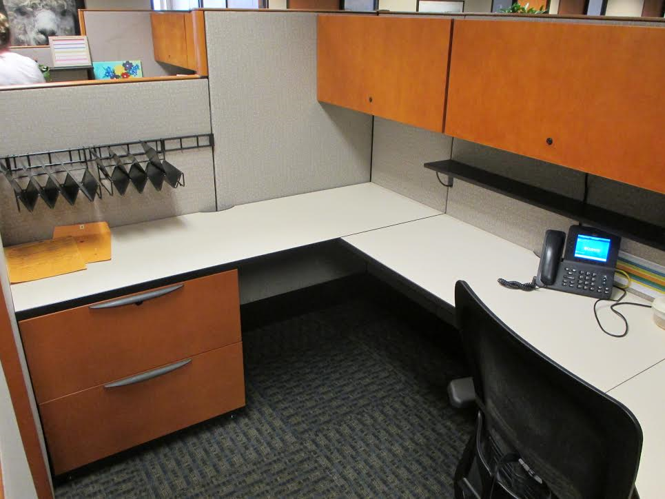 Used cubicles 6x6 64 53 haworth premise enhanced for Cubicle design tool