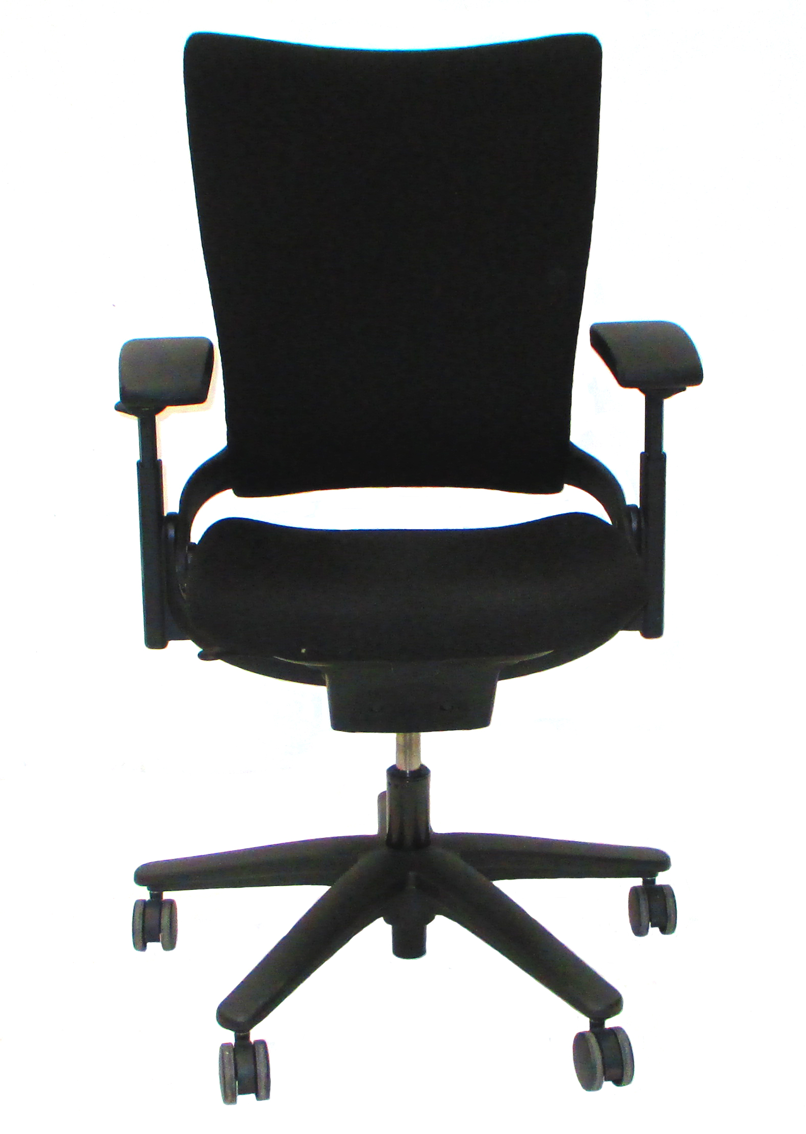 Used fice Furniture Allsteel Sum Task Chair with Black Fabric