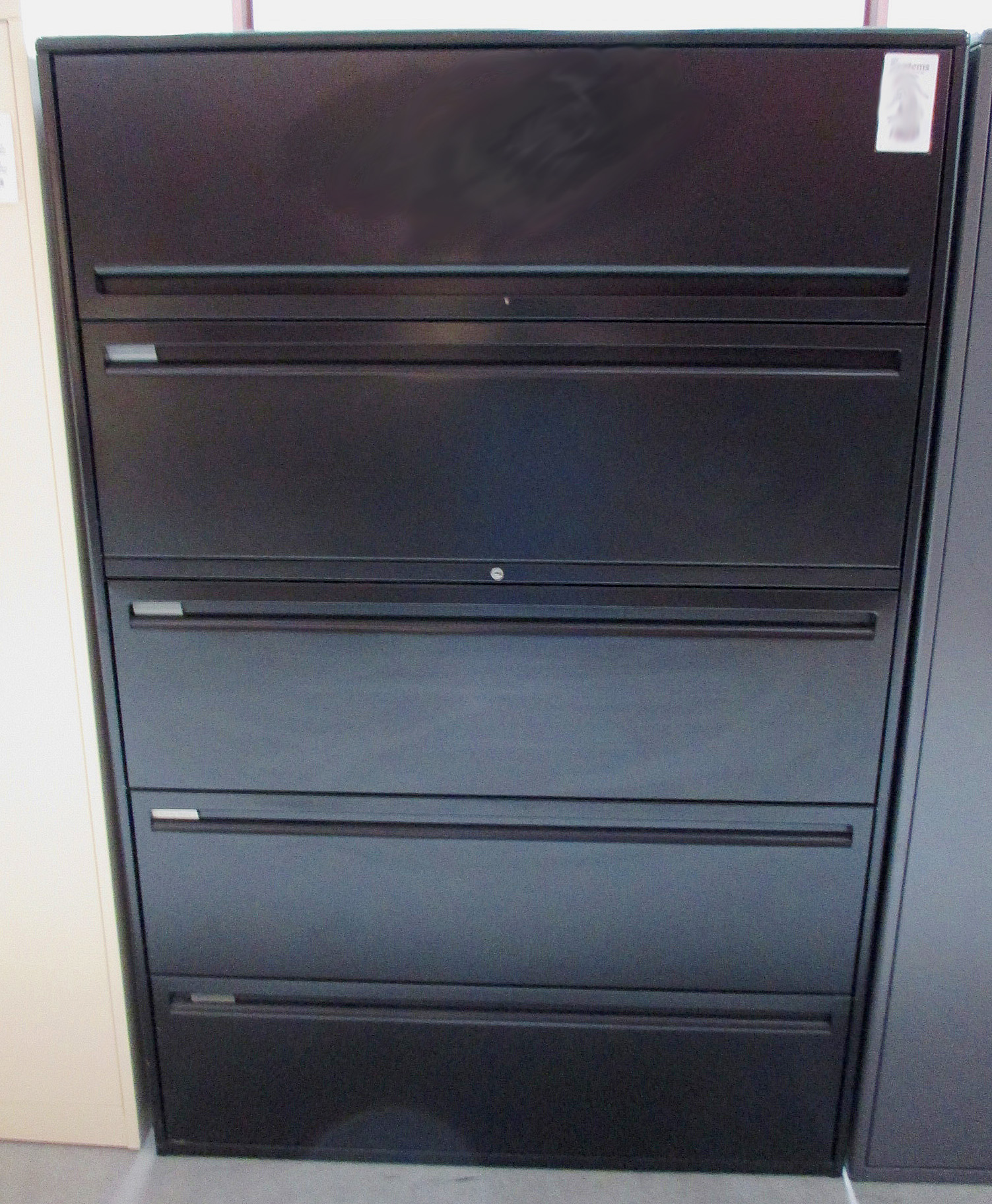 Haworth drawer lateral file cabinet cabinets matttroy