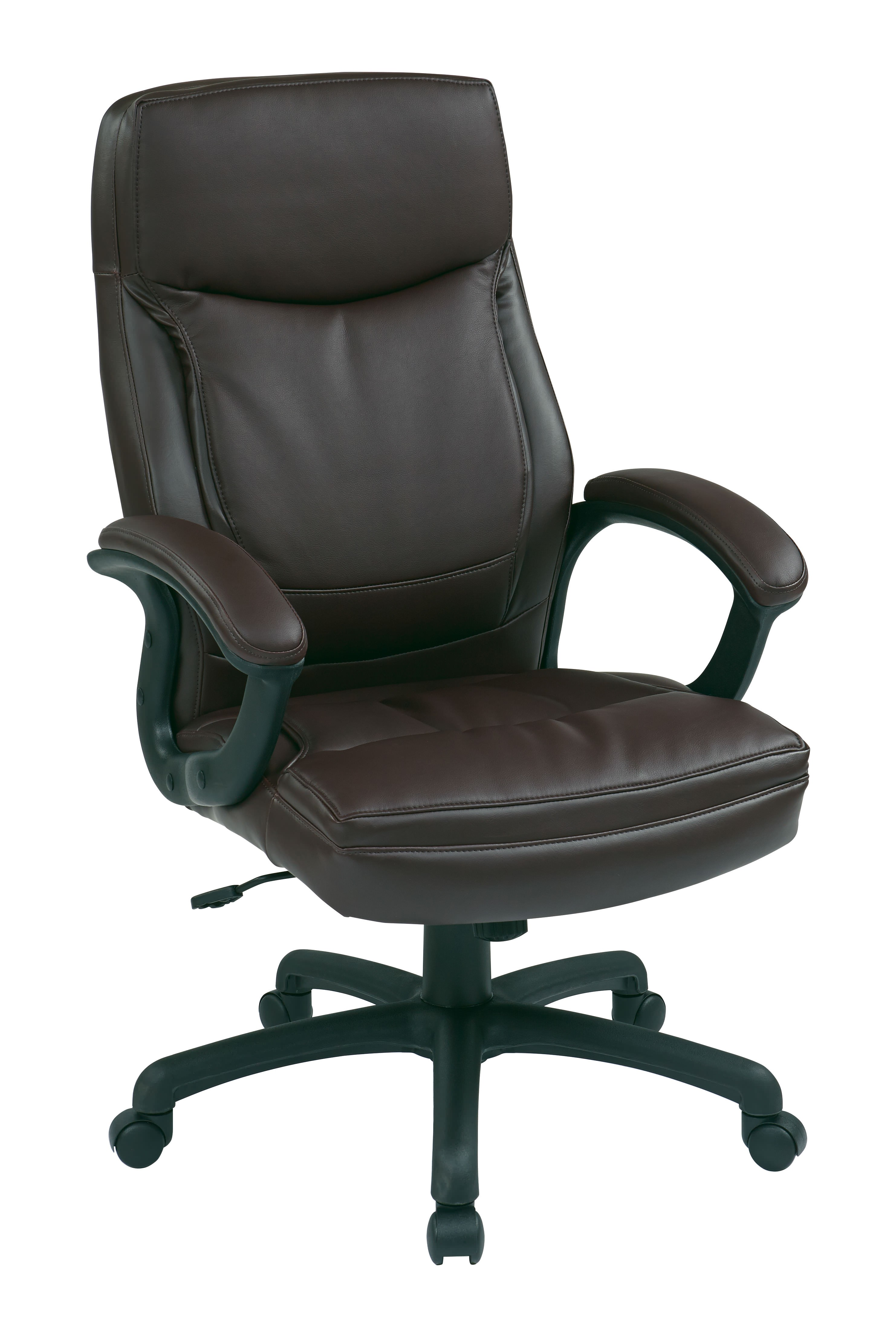 New fice furniture Mocha High Back Leather Managers Chair