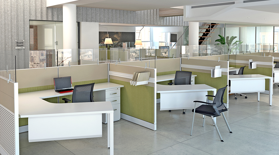 Friant Novo Cubicles Systems Office Furniture