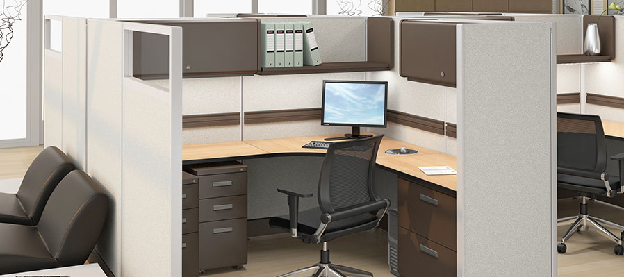 Friant System 2 Cubicles Systems Office Furniture