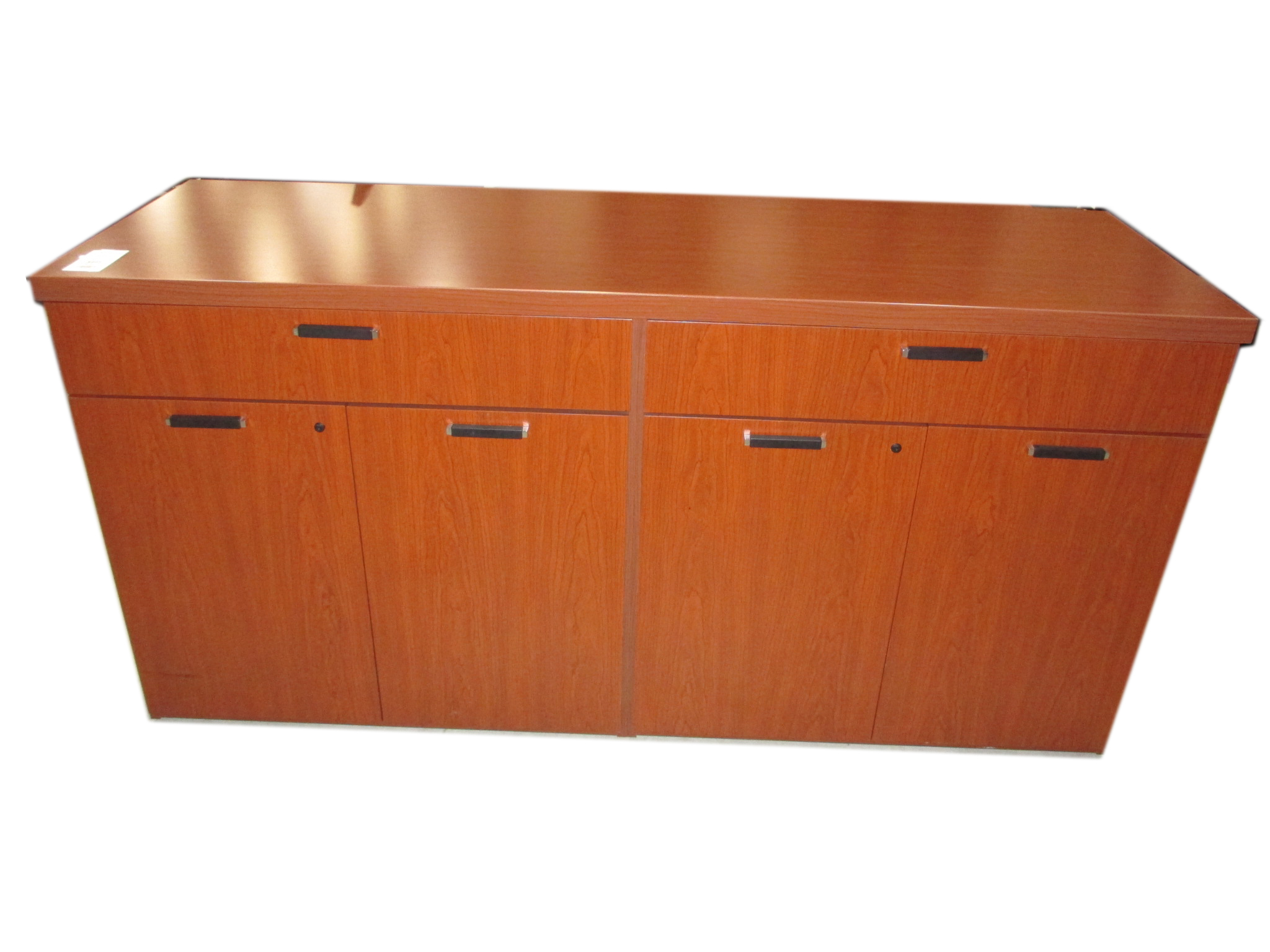 Light Wood Buffet Table By National