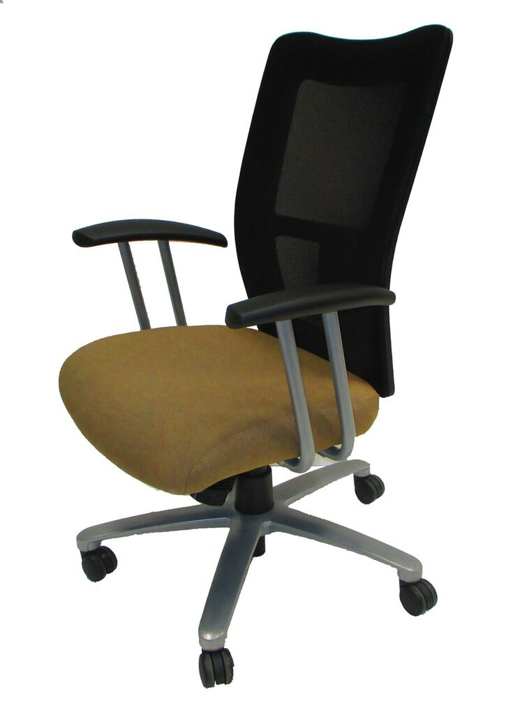 National Office Furniture Mix It Conference Chair Tan Black