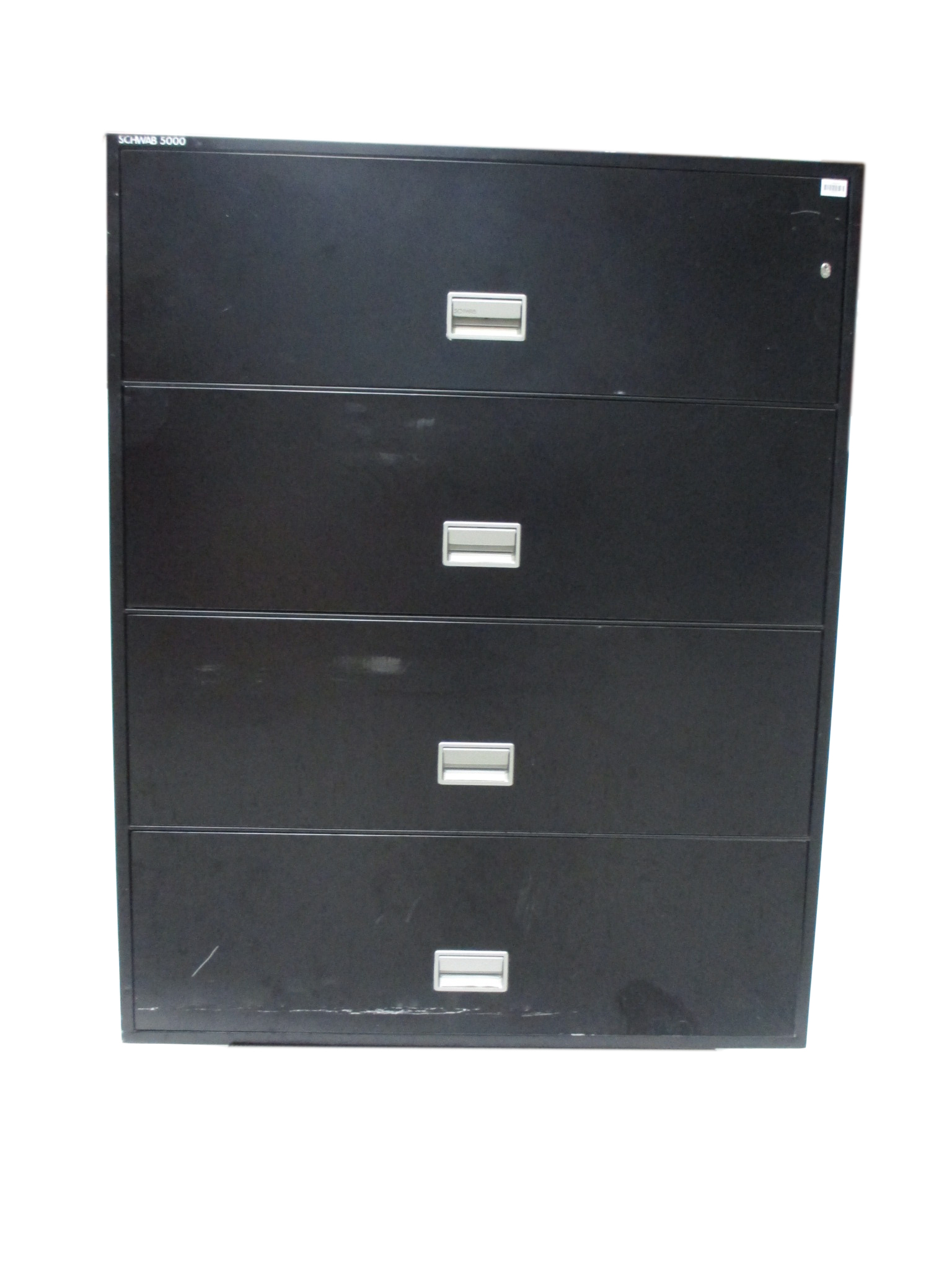 4 Drawer 42 Fireproof Lateral File Black By Schwab 5000