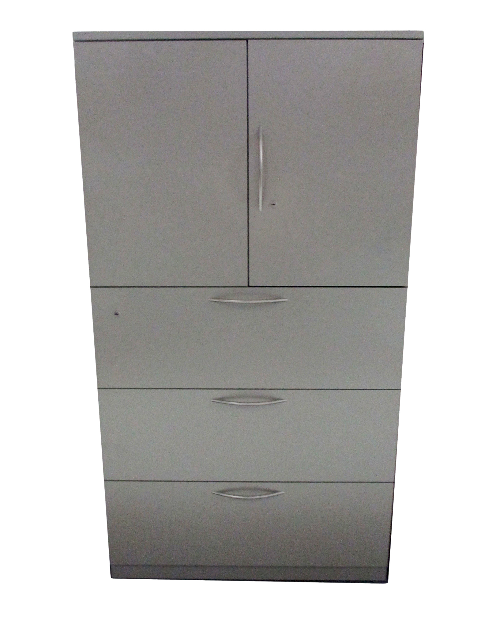 sc 1 st  Systems Office Furniture & 36u2033 3 Drawer Gray Metal Storage Tower By Steelcase