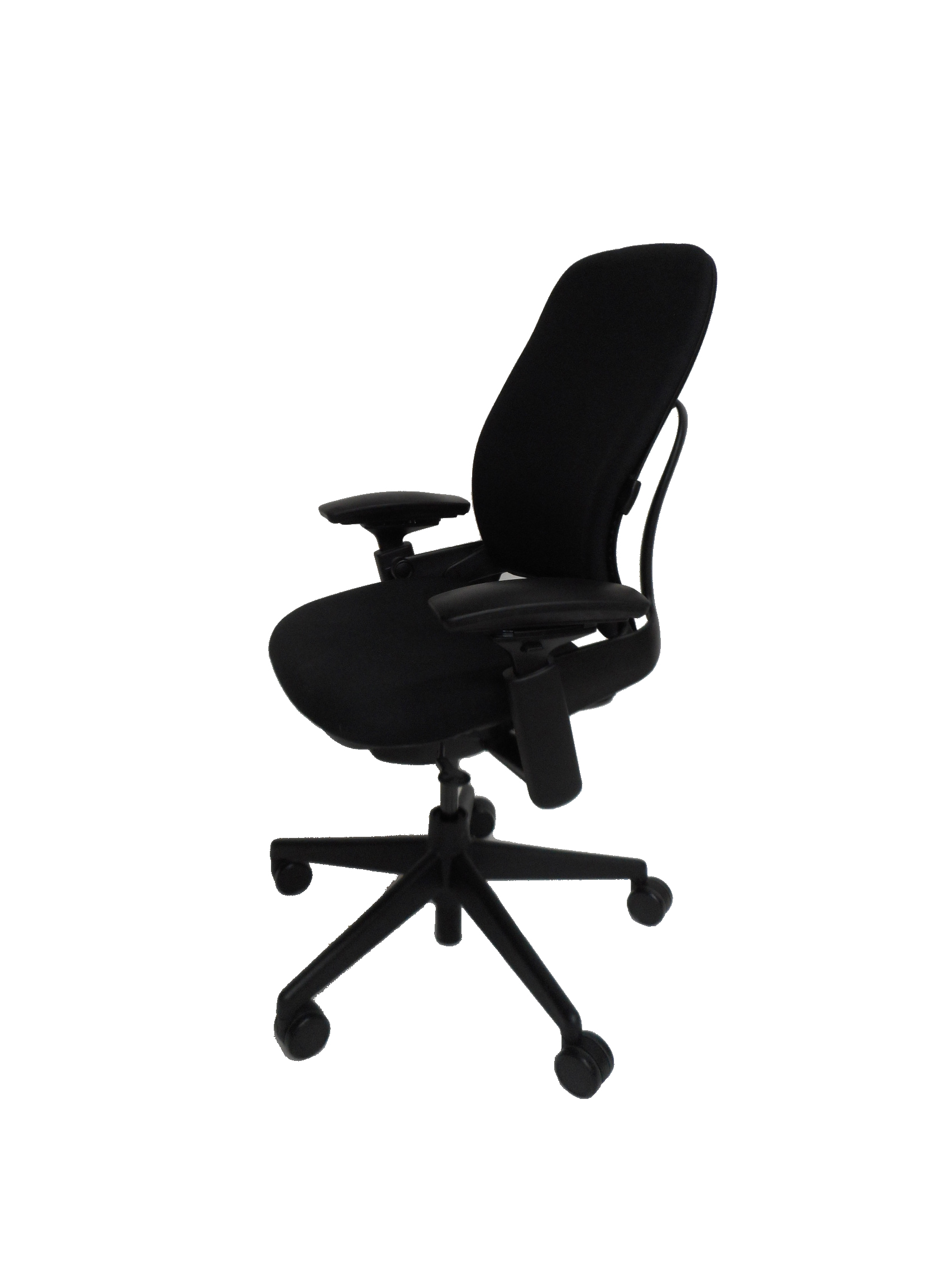 Used fice Furniture Leap V2 Black Fabric Task Chair By Steelcase