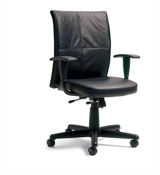 Steelcase Turnstone Chair. Turnstone Jacket By Steelcase Black Leather  Conference Chair T