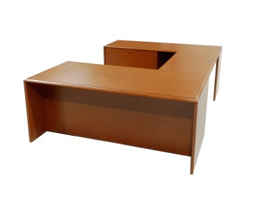 U-shape laminate office furniture
