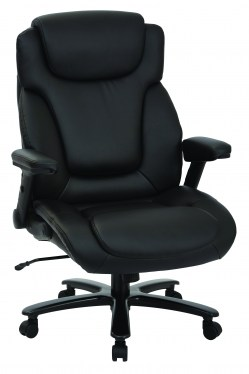 Big & Tall Deluxe Leather Executive Chair by Space Seating