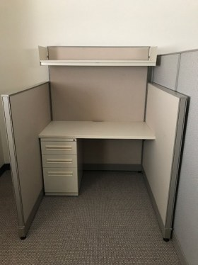 4x4 (62″/48″) Telemarketing Haworth Used Cubicles