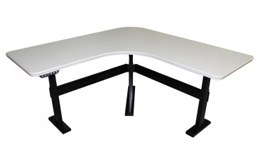 58″ x 58″ Series 7 Electric Height Adjustable Desks By Steelcase