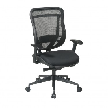 Executive High Back Chair with Breathable Mesh Back and Seat by Space Seating