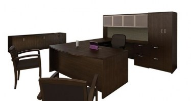 Cherryman U-Shape Private Office Desk