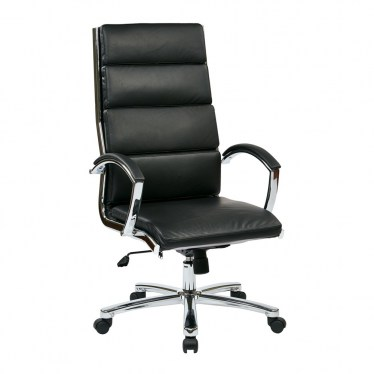 White High Back Executive Chair by Space Seating
