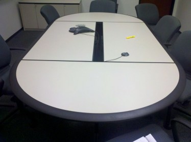 10' Howe Race Track Conference Table