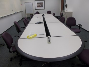 15' Howe Race Track Conference Table