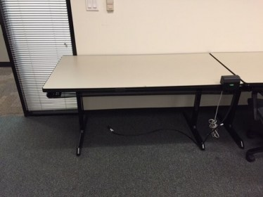 60″x30″ Laminate Folding Leg Training Table By Howe