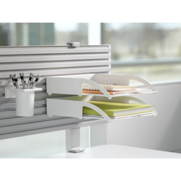 Hanging Portrait Letter Tray by Steelcase
