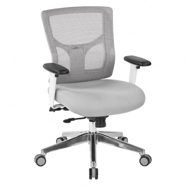 Gray Mesh Task Chair by Space Seating