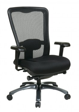 ProGrid High Mesh Back and Fabric Seat Task Chair by Space Seating