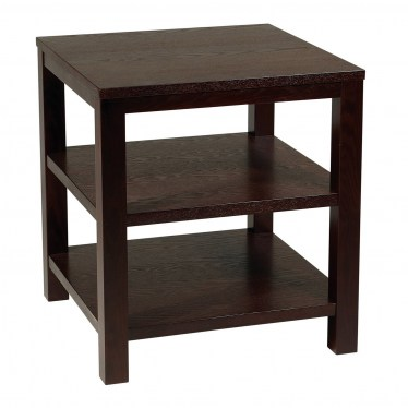 Square End Table by Space Seating