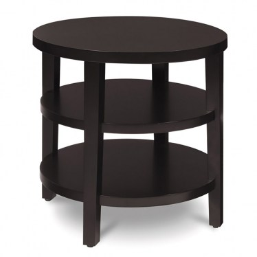 Round End Table by Space Seating
