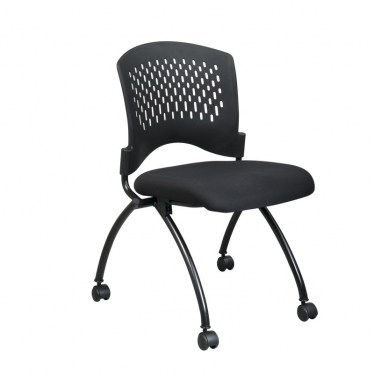 Armless Plastic Back Nesting Chair by Space Seating