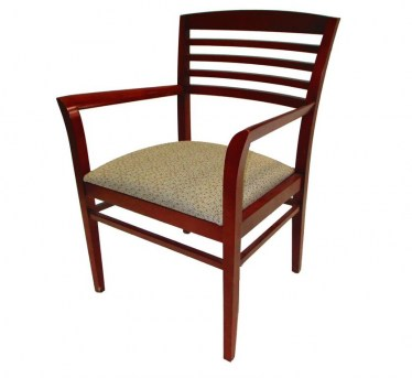 National Office Furniture Admire Guest Chair Horizontal Slat Back