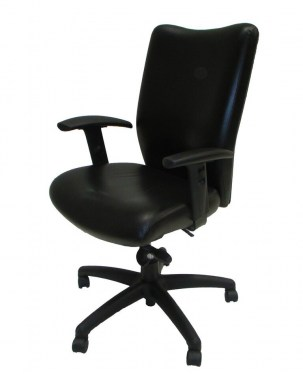 black leather task office chairs austin