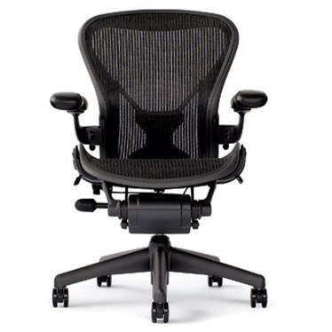 Aeron B Black V-Back 3 Function Task Office Chair