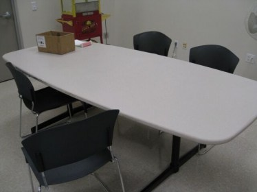 8' Steelcase Rectangular Conference Table