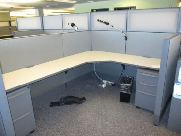 8x6 (48″) Haworth Premise Enhanced Used Cubicles