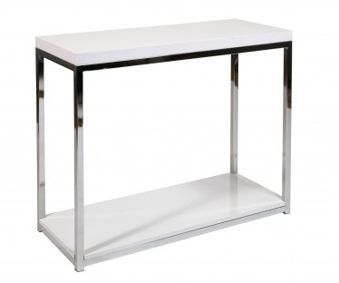 White Foyer Table by Space Seating