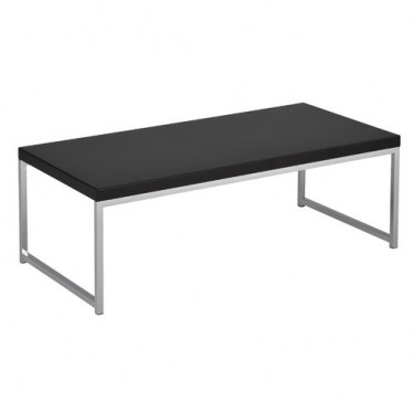 Black Chrome Coffee Table by Space Seating